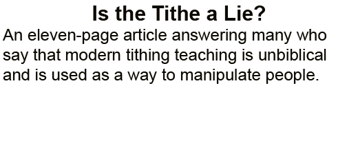 Is_the_Tithe_a_Lie