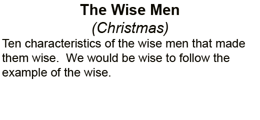 The_Wise_Men_Christmas